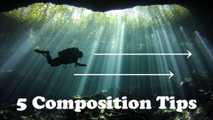 underwater photo composition tips