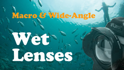 macro diopters and wet lenses