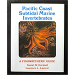 Pacific Coast Subtidal Marine Invertebrates Identification Book