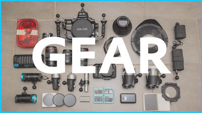 my professional underwater camera gear