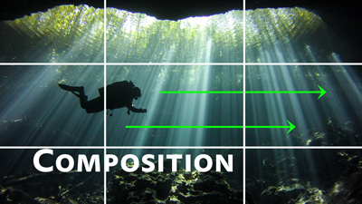basic composition tips for underwater photo and video