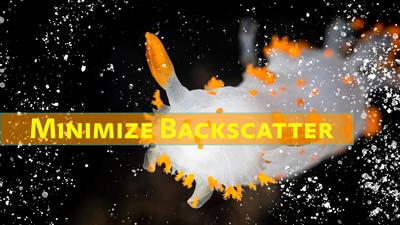 how to minimize backscatter thumb