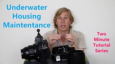 underwater housing maintenance tutorial