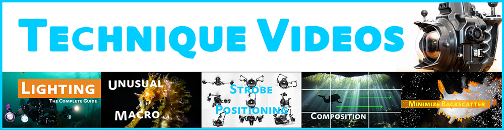 underwater photo technique video tutorials