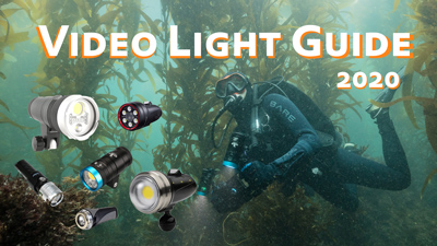 Underwater Video Light Comparison and Guide