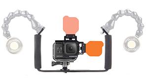 Backscatter FLIP8/9 Wide-Angle Bluewater GoPro Kit
