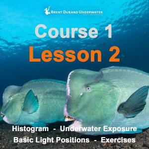 Underwater Photo Course 1 - Lesson 2