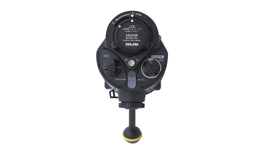 Sea & Sea YS-D3 Lightning control dials